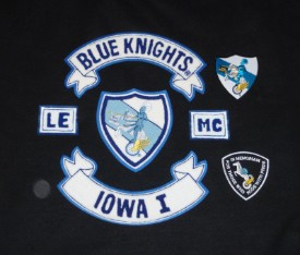 Blue knights xxx motorcycle club have